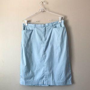RALPH Ralph Lauren baby blue polo skirt